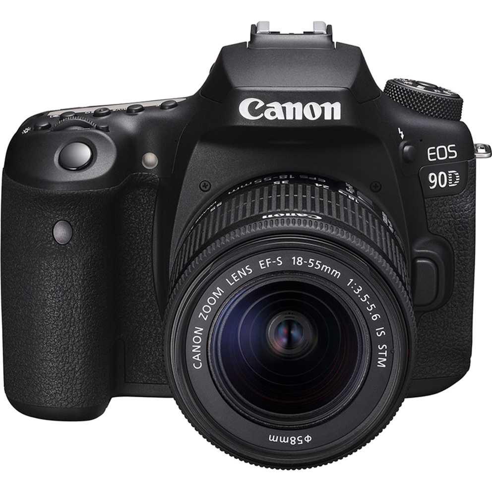 Фотоаппарат Canon EOS 90D EF-S 18-55mm IS STM Kit Black (3616C030AA) Тип матрицы CMOS (КМОП)