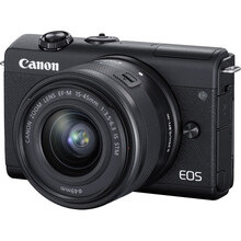 Фотоапарат CANON EOS M200 + 15-45 IS STM Kit Black (3699C027AA)