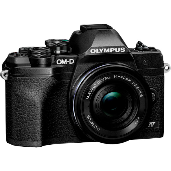 Фотоаппарат OLYMPUS E-M10 mark IV Pancake Zoom 14-42 Kit Black/Black Тип зеркальный