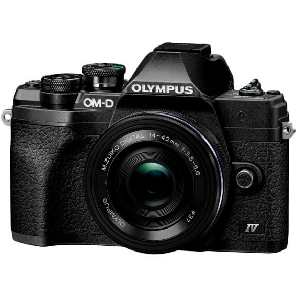 Фотоаппарат OLYMPUS E-M10 mark IV Pancake Zoom 14-42 Kit Black/Black Кол-во эффективных мегапикселей 21.8