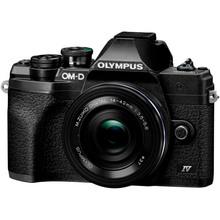 Фотоаппарат OLYMPUS E-M10 mark IV Pancake Zoom 14-42 Kit Black/Black