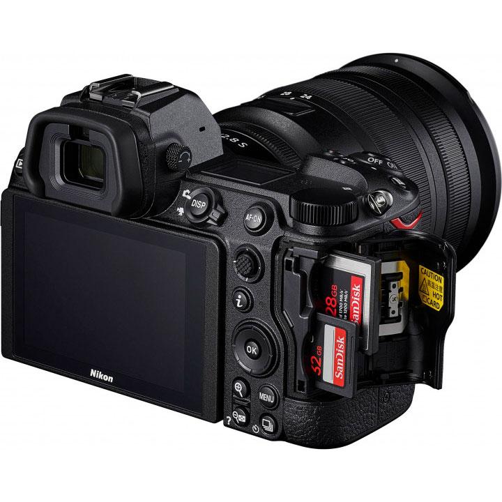 Фотоаппарат NIKON Z 7 II + 24-70mm f4 Kit (VOA070K001) Кол-во эффективных мегапикселей 45.7