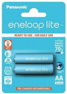 Аккумулятор ENELOOP Panasonic Lite R6/AA 950mAh 2bl