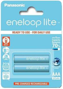 Аккумуляторы ENELOOP Panasonic Lite R03/AAA