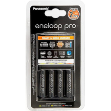 Зарядное устройство ENELOOP Panasonic Smart-Quick Charge + 4хAA 2500 mAh (K-KJ55HCD40E)