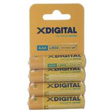 Батарейка X-DIGITAL LR 03 4 шт