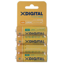 Батарейка X-DIGITAL LR 06 4 шт