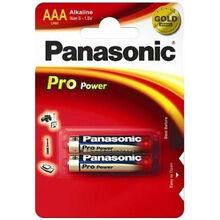 Батарейки PANASONIC LR03 Pro Power (LR03XEG/2BP) 2 шт.