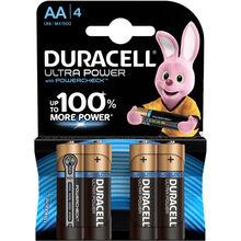 Батарейки DURACELL LR06 MN1500 KPD 04*20 Ultra 4 шт.