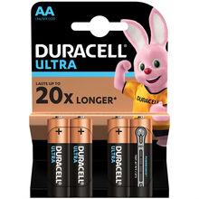 Батарейки DURACELL LR06 MN1500 Ultra 1x(3+1) (5004811)