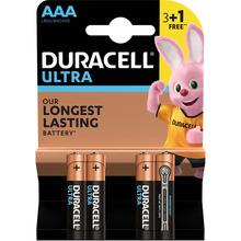 Батарейки DURACELL LR03 MN2400 Ultra уп. 1x(3+1) шт. (5004812)