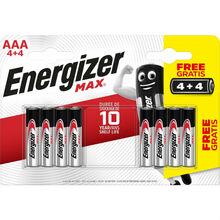 Батарейки ENERGIZER AAA MAX 4+4 шт (Е301533900)