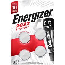 Батарейка ENERGIZER CR2032 Lithium 4 шт (E300830102)