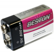 Аккумулятор Beston 6LR61 800 mAh (AAB1823)