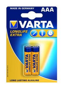 Батарейки VARTA 4103 (LR03) 1x2
