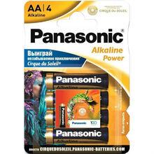 Батарейка PANASONIC LR06 Alkaline Power (Cirque Du Soleil) 1x4 шт (LR6REB/4BPSCDS)