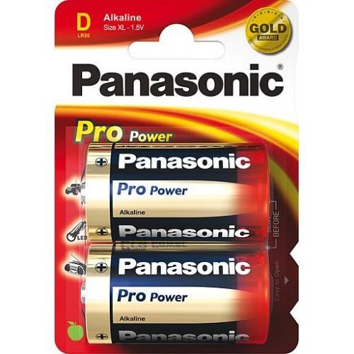 Батарейки PANASONIC LR20 Pro Power