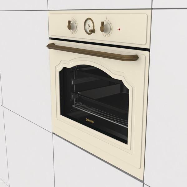 Духовой шкаф GORENJE BO 7732 CLI (EVP341-444M) слоновая кость Тип духовки электрическая