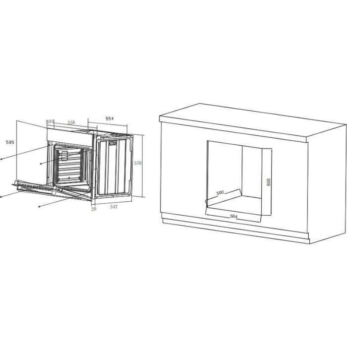 Духовой шкаф HAIER HOX-T11HGB Тип очистки эмаль легкой очистки