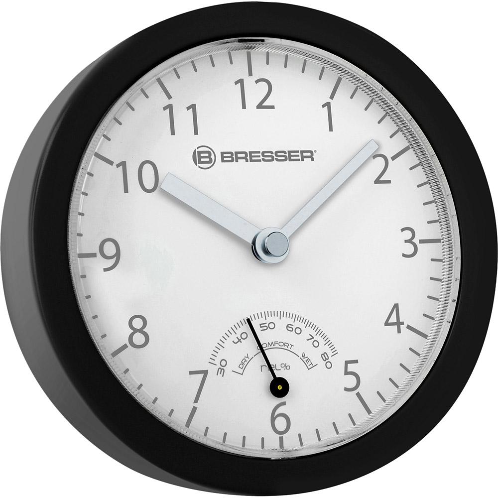 Настенные часы BRESSER MyTime Bath mini Black (8020115CM3QUA)