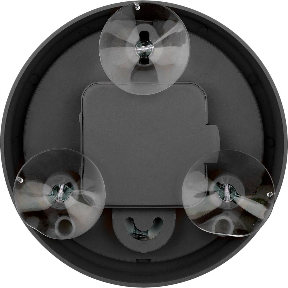 Настенные часы BRESSER MyTime Bath mini Black (8020115CM3QUA) Корпус Пластик