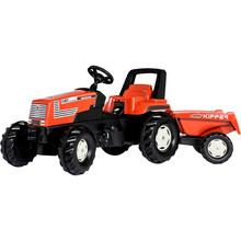 Трактор с прицепом Rolly Toys rollyFarmtrac Fiat Centenario Brown Black (26721)