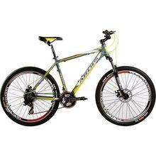 """Велосипед ARDIS Terra 26"""" рама-15"""" Al Grey/Yellow (0171)"""