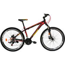 """Велосипед CROSSRIDE Blast 26"""" рама-15"""" Al Black Red (0190)"""