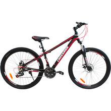 "Велосипед CROSSRIDE Hilland 27.5"" рама-17"" Al Black Red (0247)"