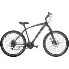 "Велосипед CROSSRIDE Madman 27.5"" рама-17"" St Black/Blue (0184)"