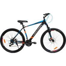 "Велосипед CROSSRIDE Spider 27.5 ""рама-17"" St Black / Blue(01961)"