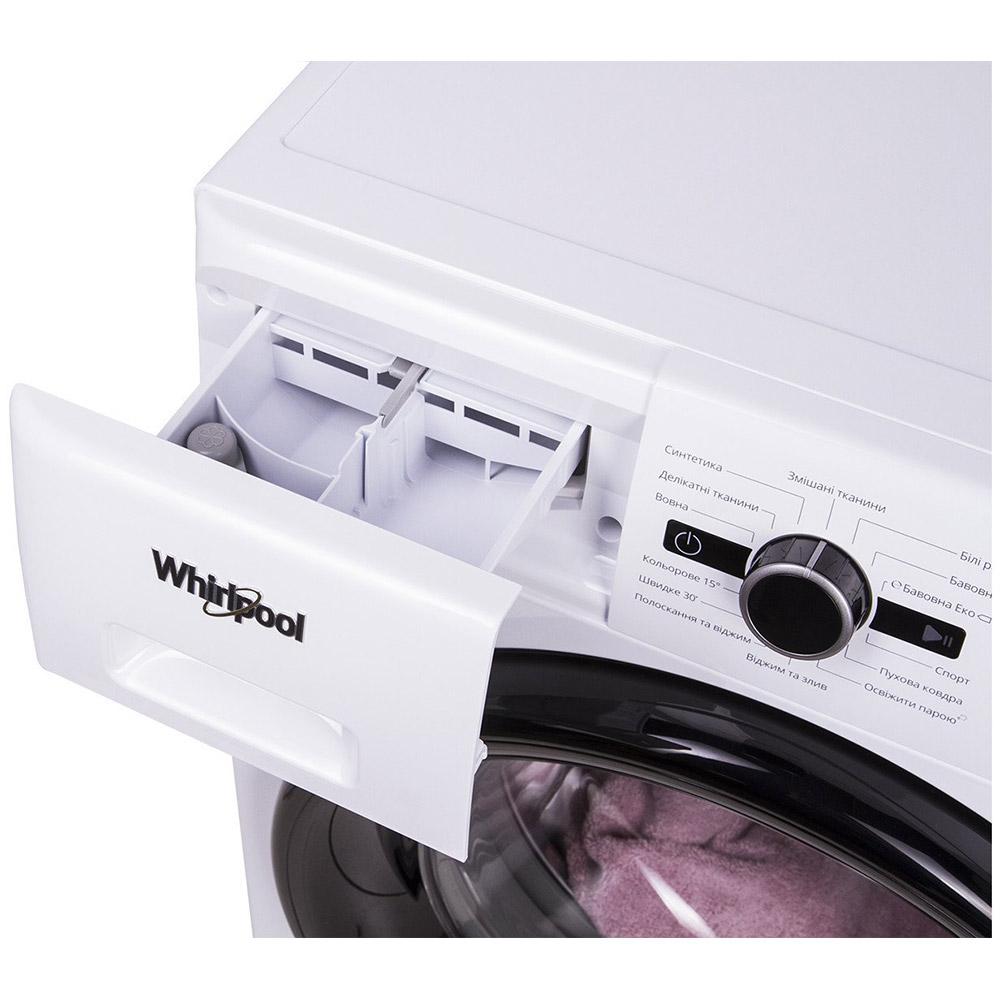 Стиральная машина WHIRLPOOL FWSG61083WBV UA Максимальная загрузка 6