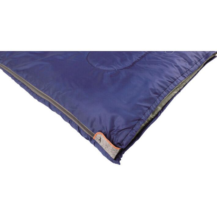 Спальник EASY CAMP Chakra/+10°C Blue Left (240147) Молния левая