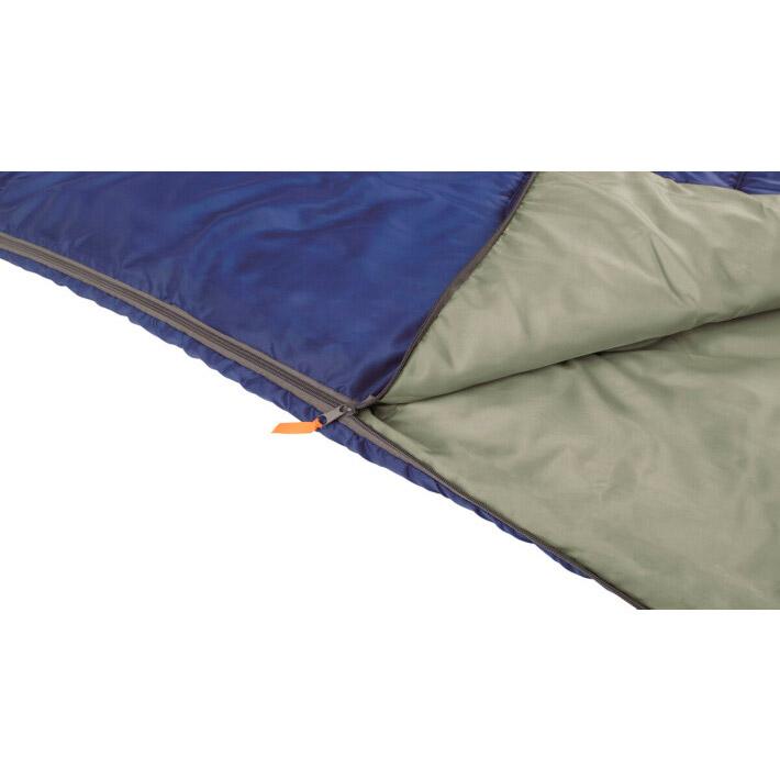 Спальник EASY CAMP Chakra/+10°C Blue Left (240147) Сфера применения пешеходный туризм