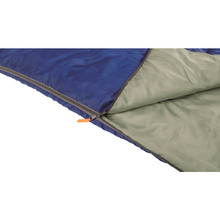 Спальник EASY CAMP Chakra/+10°C Blue Left (240147)