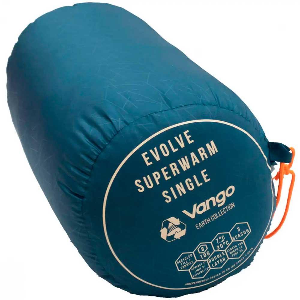 Спальный мешок Evolve Superwarm Single/+2°C Moroccan Blue Left (SBREVOLVEM23TJ8) Тип одеяло