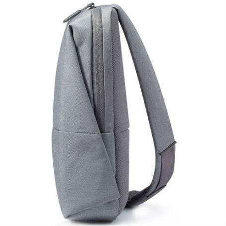 Рюкзак XIAOMI Mi City Sling Bag Light Grey Материал синтетическая ткань