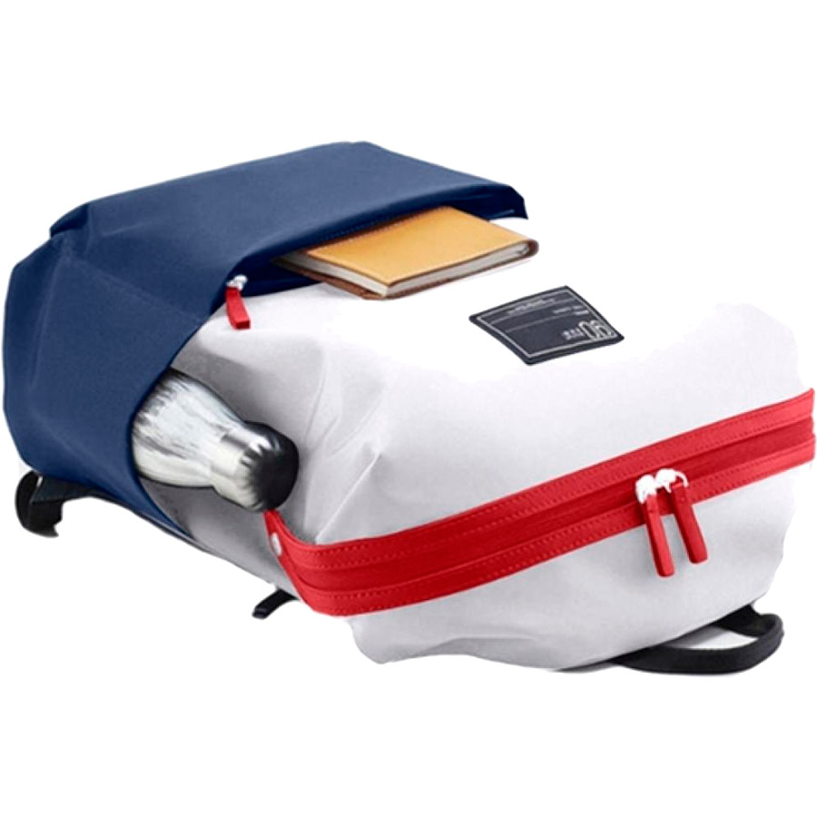 Рюкзак 90FUN Lecturer Casual White/Blue (Ф04023) Диагональ экрана ноутбука 13