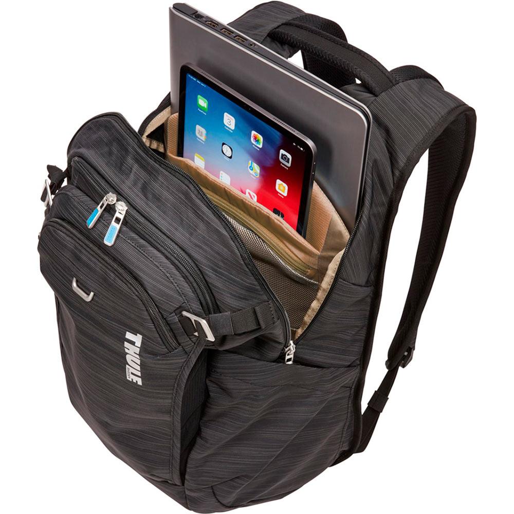 """Рюкзак для ноутбука Thule Construct 24L 15.6"""" Black (TH 3204167) Материал нейлон"""