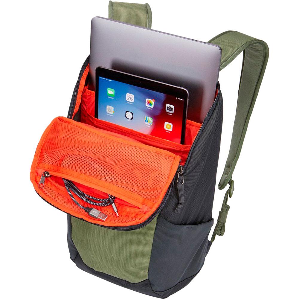 """Рюкзак для ноутбука Thule EnRoute 14L 13"""" Olivine/Obsidian (TH 3204277) Материал нейлон"""