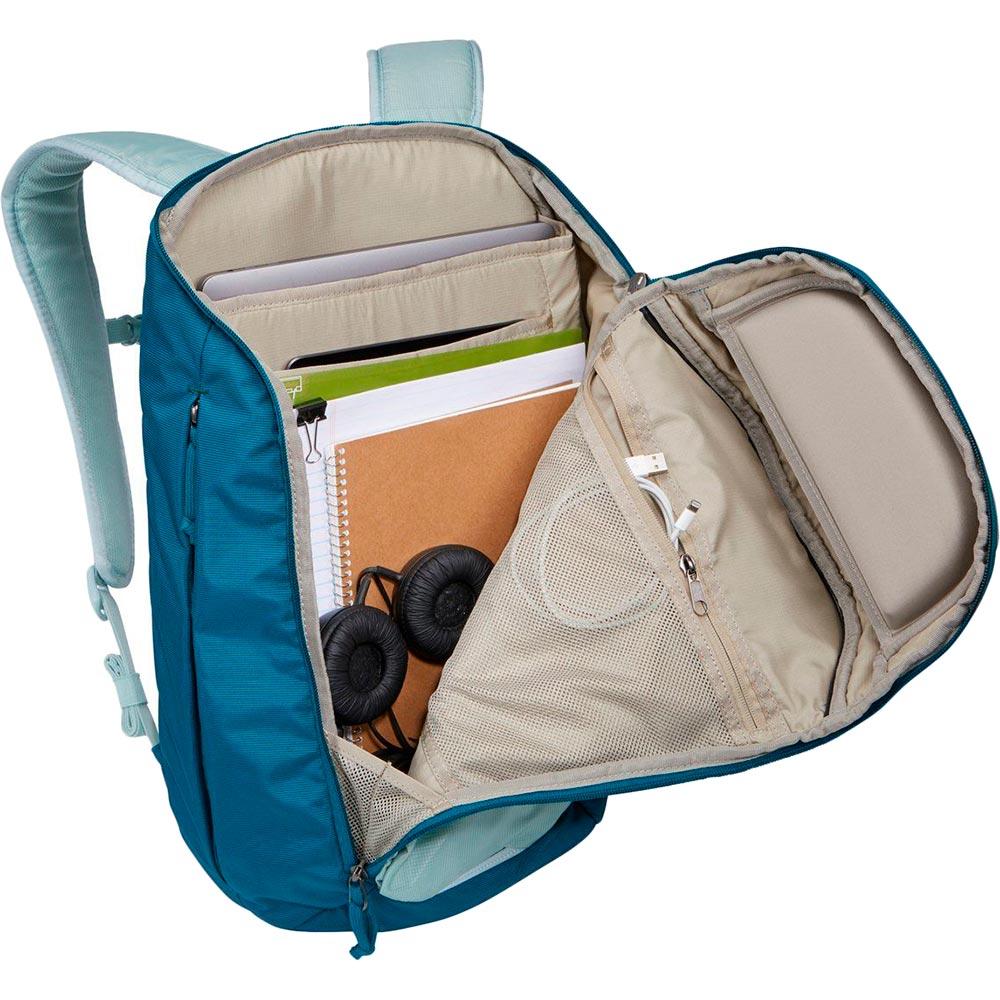 "Рюкзак для ноутбука Thule EnRoute 23L 15.6"" Alaska/Deep Teal (TH 3204281) Материал полиэстер"