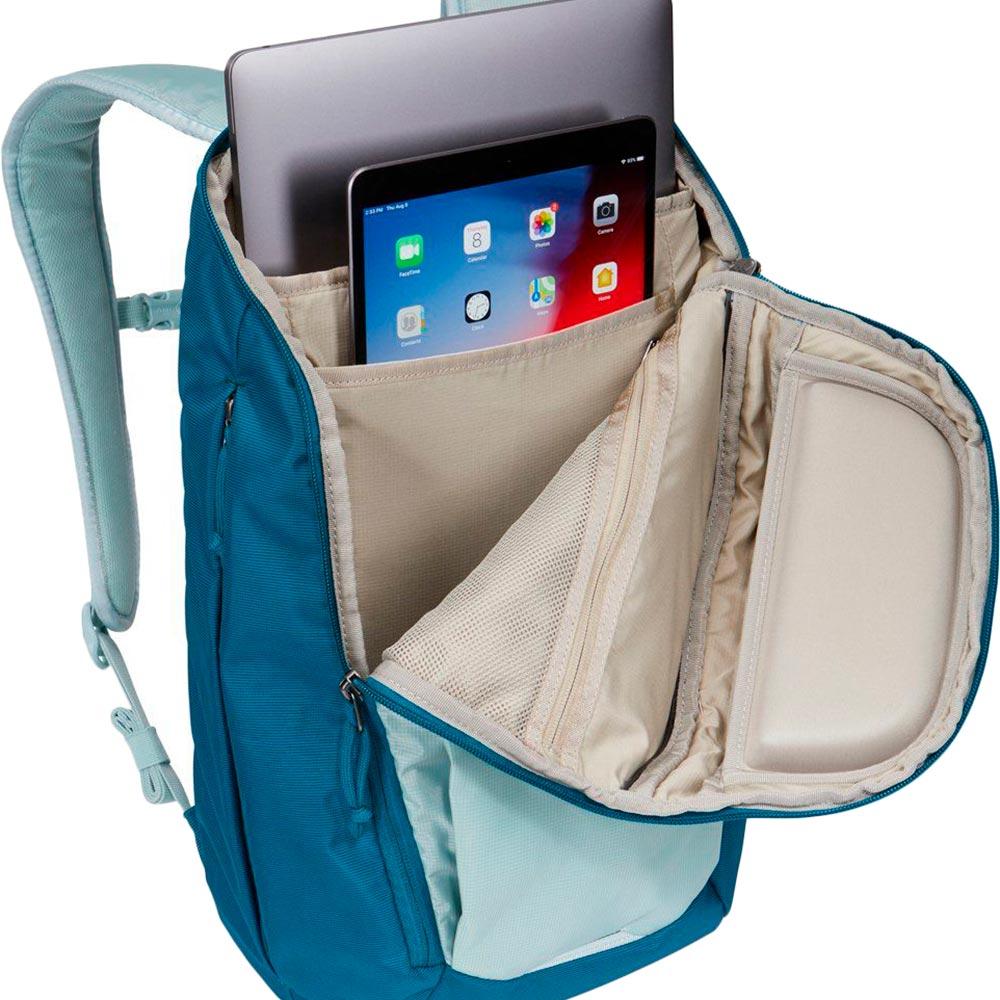 """Рюкзак для ноутбука Thule EnRoute 23L 15.6"""" Alaska/Deep Teal (TH 3204281) Материал нейлон"""