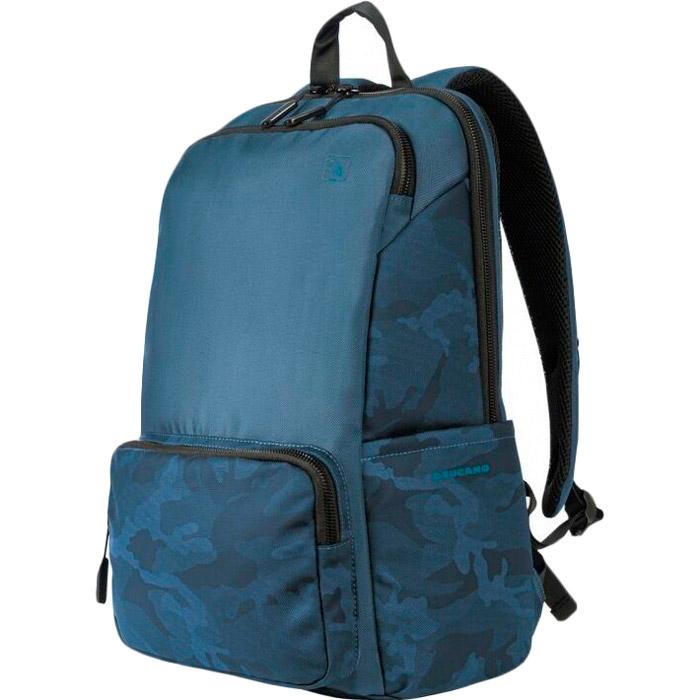 """Рюкзак для ноутбука Tucano Terras Camouflage 15.6"""" Blue (BKTER15-CAM-B) Пол универсальный"""
