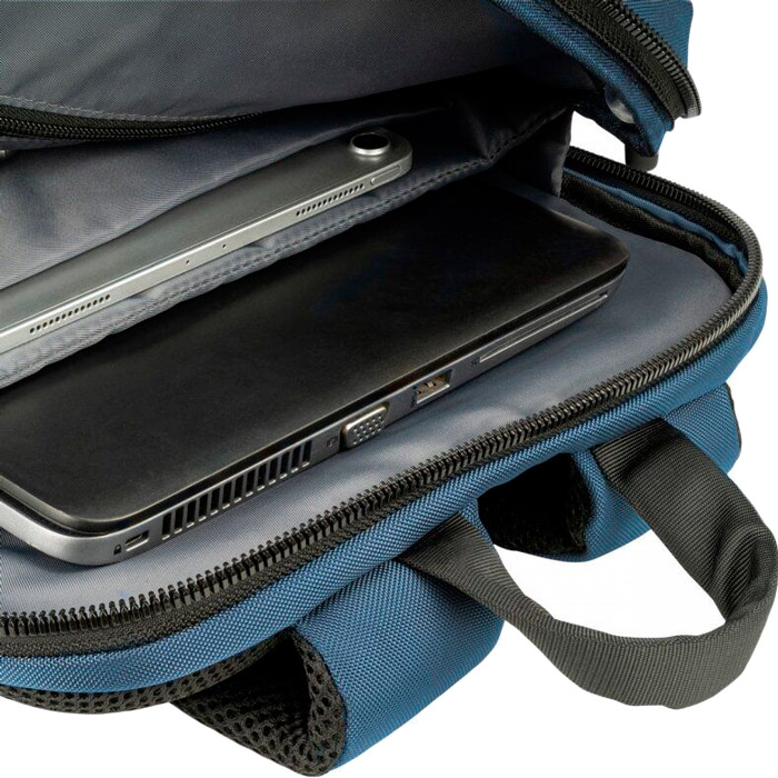 "Рюкзак для ноутбука Tucano Terras Camouflage 15.6"" Blue (BKTER15-CAM-B) Материал нейлон"