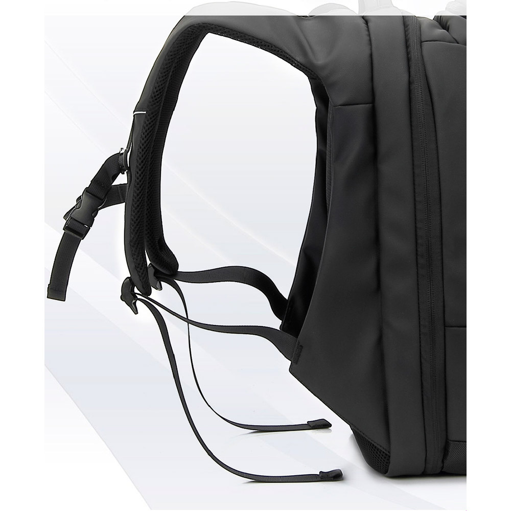 "Рюкзак для ноутбука Promate TourPak-BP 17.3"" Black (tourpak-bp.black) Объем 45"