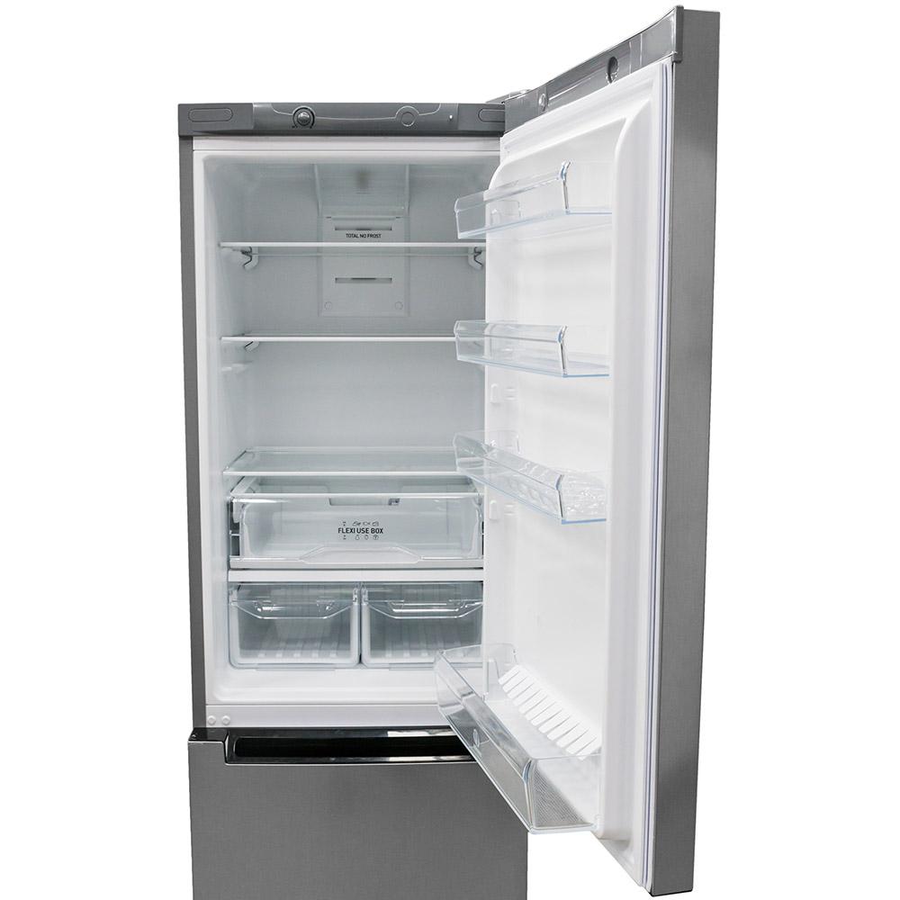 Холодильник INDESIT DF 4181 X Морозильная камера нижнее расположение