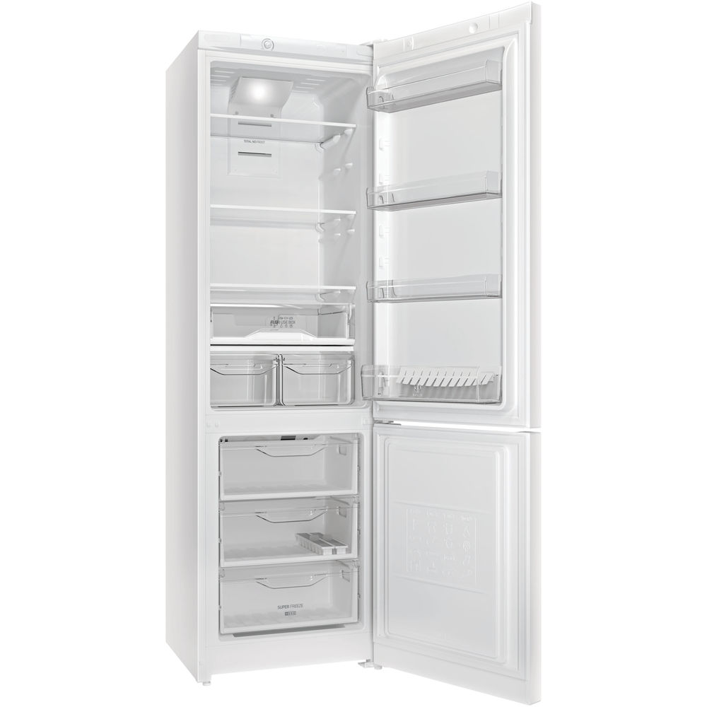 Холодильник INDESIT DF 4201 W Размораживание холодильной камеры No Frost