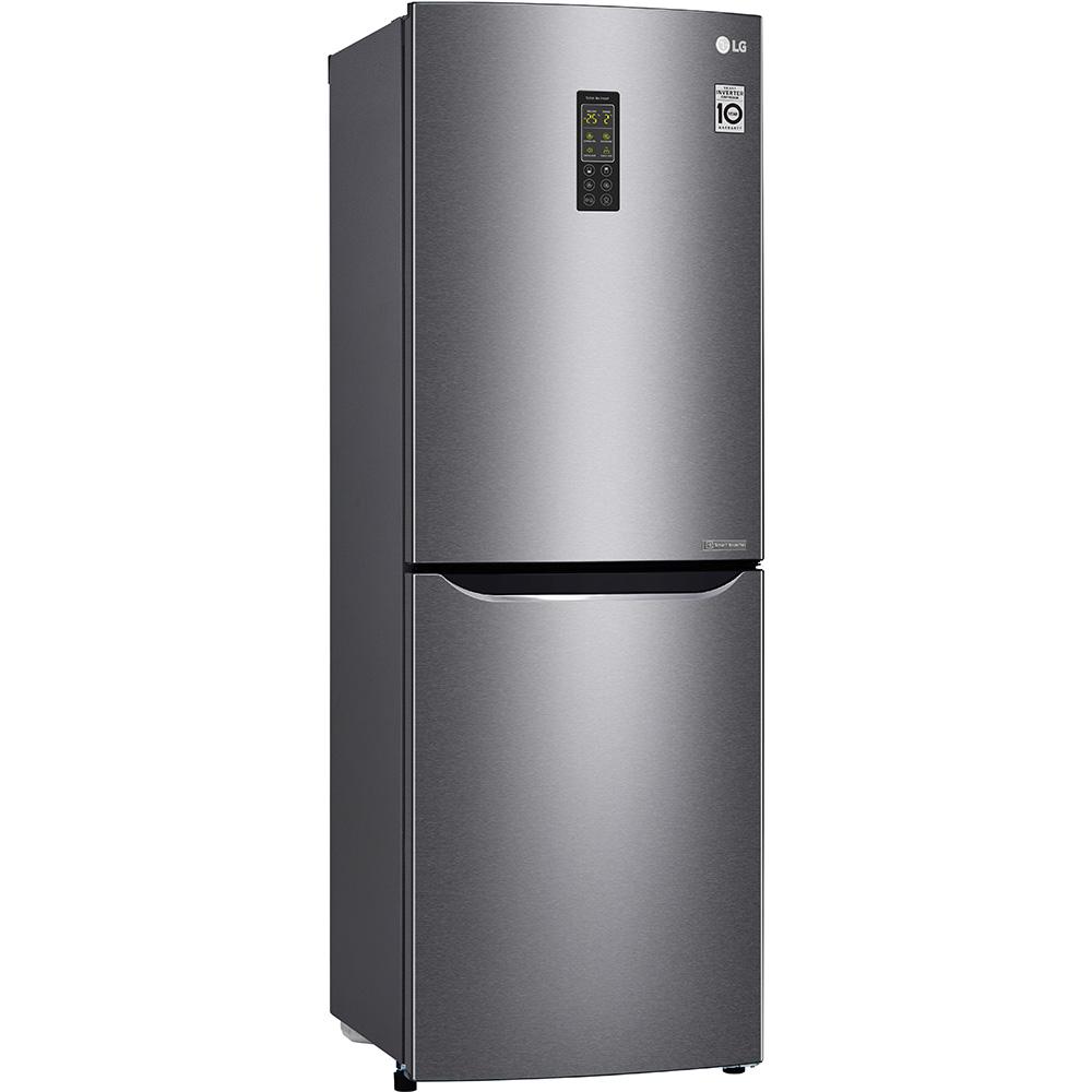 Холодильник LG GA-B379SLUL графіт Тип холодильника двокамерний