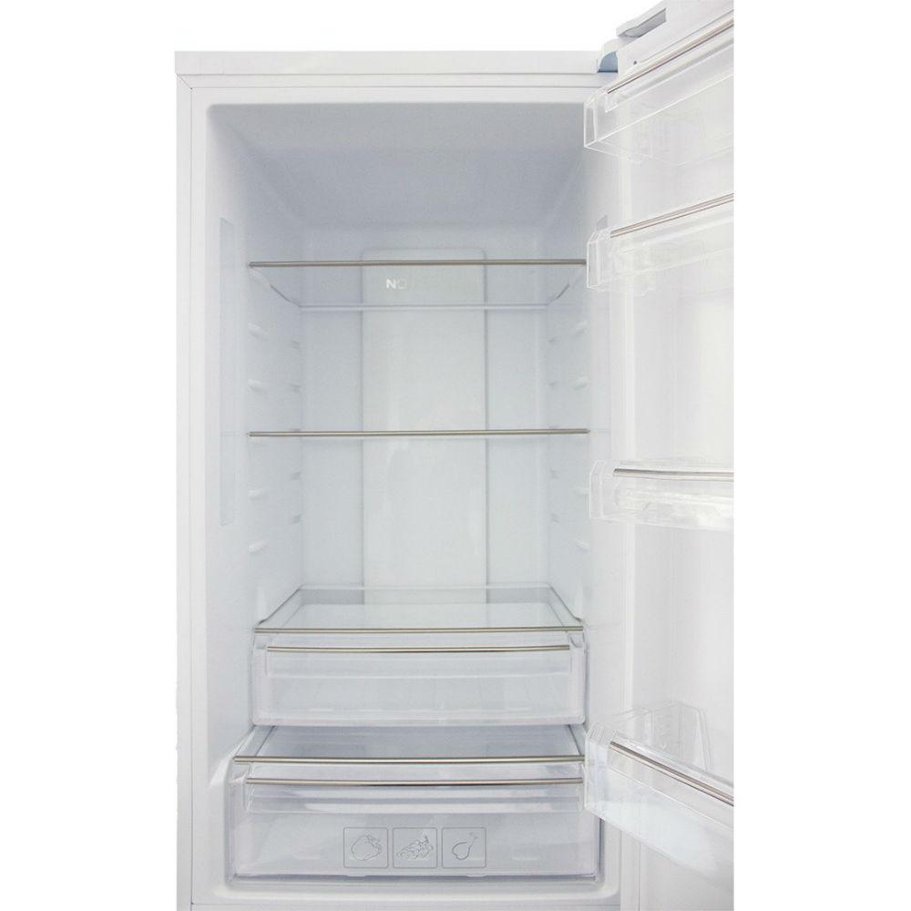 Холодильник PRIME TECHNICS RFN 1801 E D Морозильная камера нижнее расположение