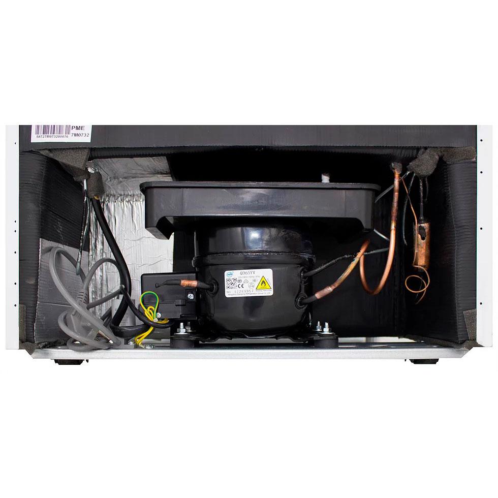 Холодильник PRIME TECHNICS RFS 16044 M Тип холодильника двухкамерный